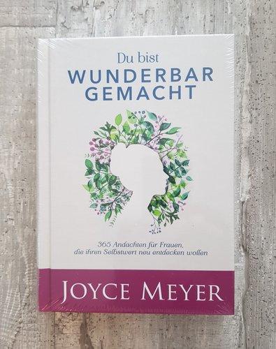 Buch - Du bist wunderbar gemacht von Joyce Meyer