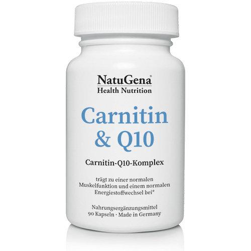 Carnitin Q10 Natugena