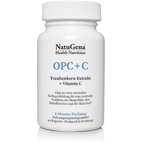 OPC + C Traubenkernextrakt Natugena