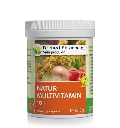 Natur Multivitamin 10+ Kapseln Dr. Ehrenberger