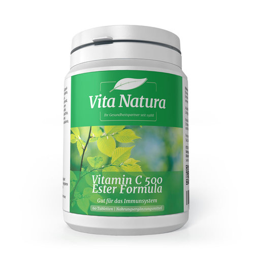 Vitamin C 500 Ester Formula